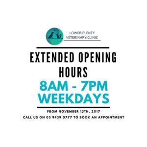 LPVC Extended Hours